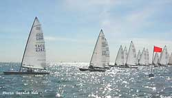 Start - Contender Open at Hayling Island SC